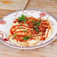 Thai crispy omelette - Khai Jiao